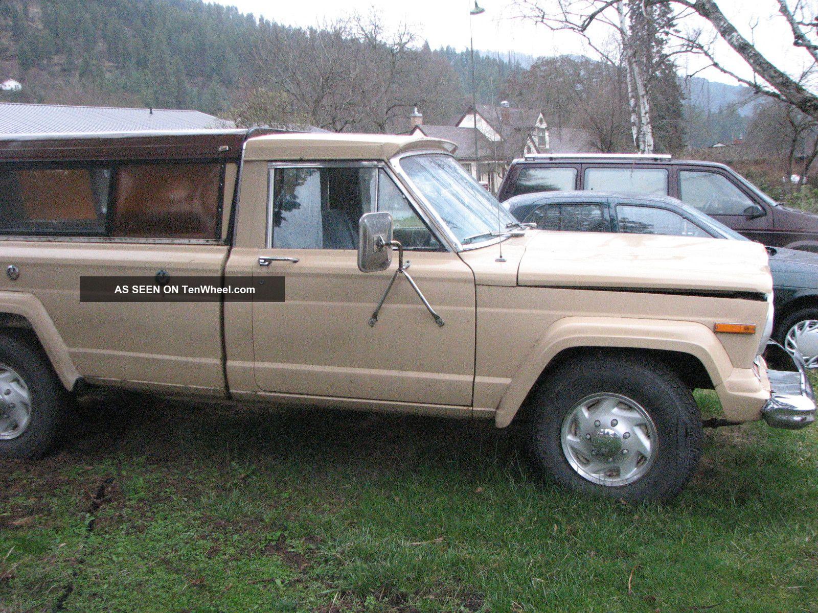 1976 Jeep J20 Gladiator Truck 3 / 4 Ton Cab Pickup 2 - Door