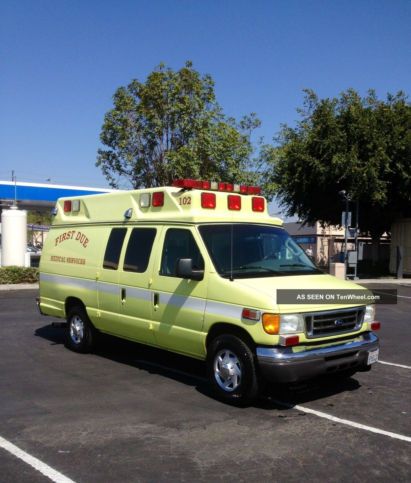 2005 Ford Ambulance Type Ii