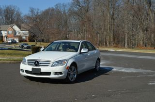 2008 Mercedes - Benz C300 4matic Luxury Sedan 4 - Door 3.  0l photo
