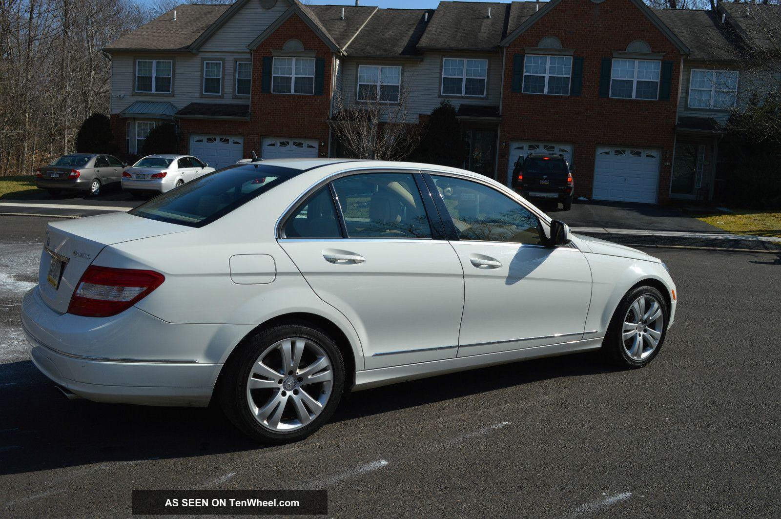 2008 Mercedes Benz C300 4matic Luxury Sedan 4 Door 3 0l