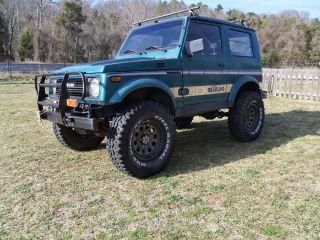 1987 Suzuki Samurai Jx Tin Top 1.  6l Tracker Engine 5.  13 Gears 32