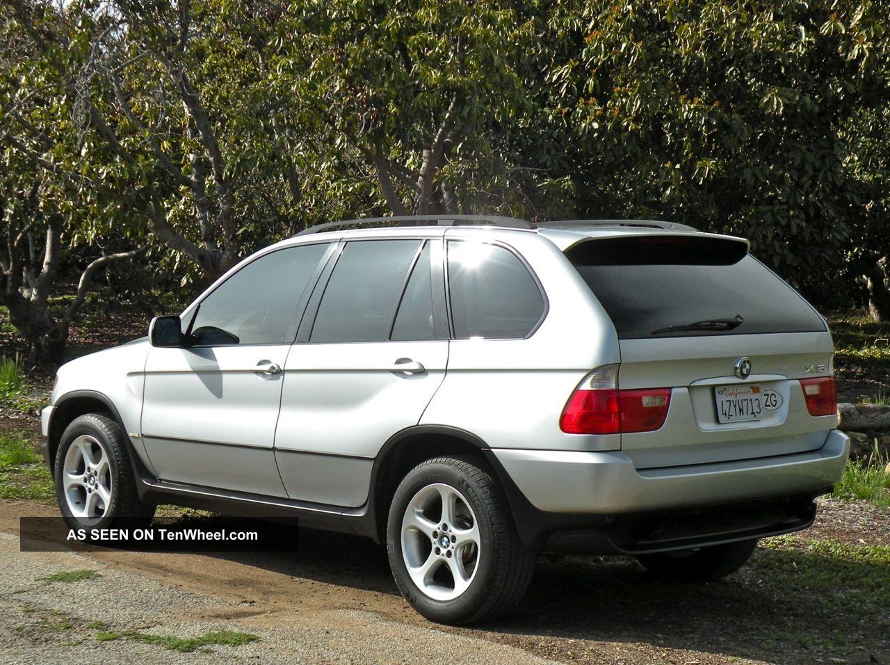 2002 Bmw X5 3 0i Sport Utility 4 Door 3 0l
