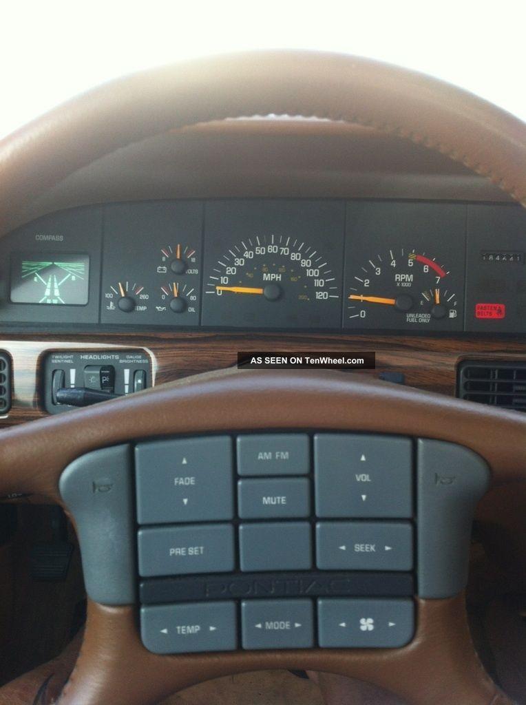 Dodge Diesel Trucks >> 1990 Pontiac Bonneville Sse Sedan 4 - Door 3. 8l