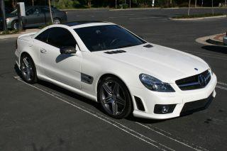 2011 Mercedes Benz Sl63,  $160k Msrp,  Diamond White W / Blk Amg photo