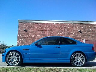 2001 Bmw M3 E46 Rare Laguna Seca Blue 6spd photo