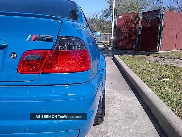 2001 Bmw M3 E46 Rare Laguna Seca Blue 6spd