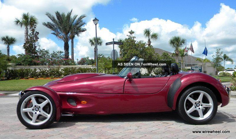 1996 Panoz Aiv Roadster Toreador Red Amp Black 4 6 V8