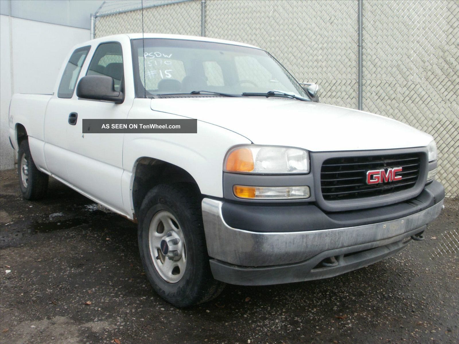 2001 gmc sierra 1500 sl ext cab 4x4 asset 15170. Black Bedroom Furniture Sets. Home Design Ideas