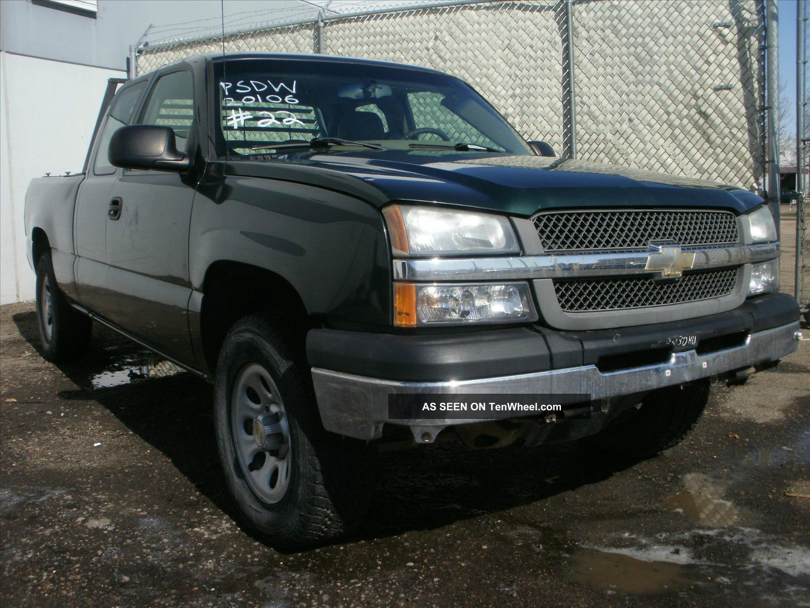 2005 chevy silverado 1500 ext cab 4x4 asset 20106. Black Bedroom Furniture Sets. Home Design Ideas