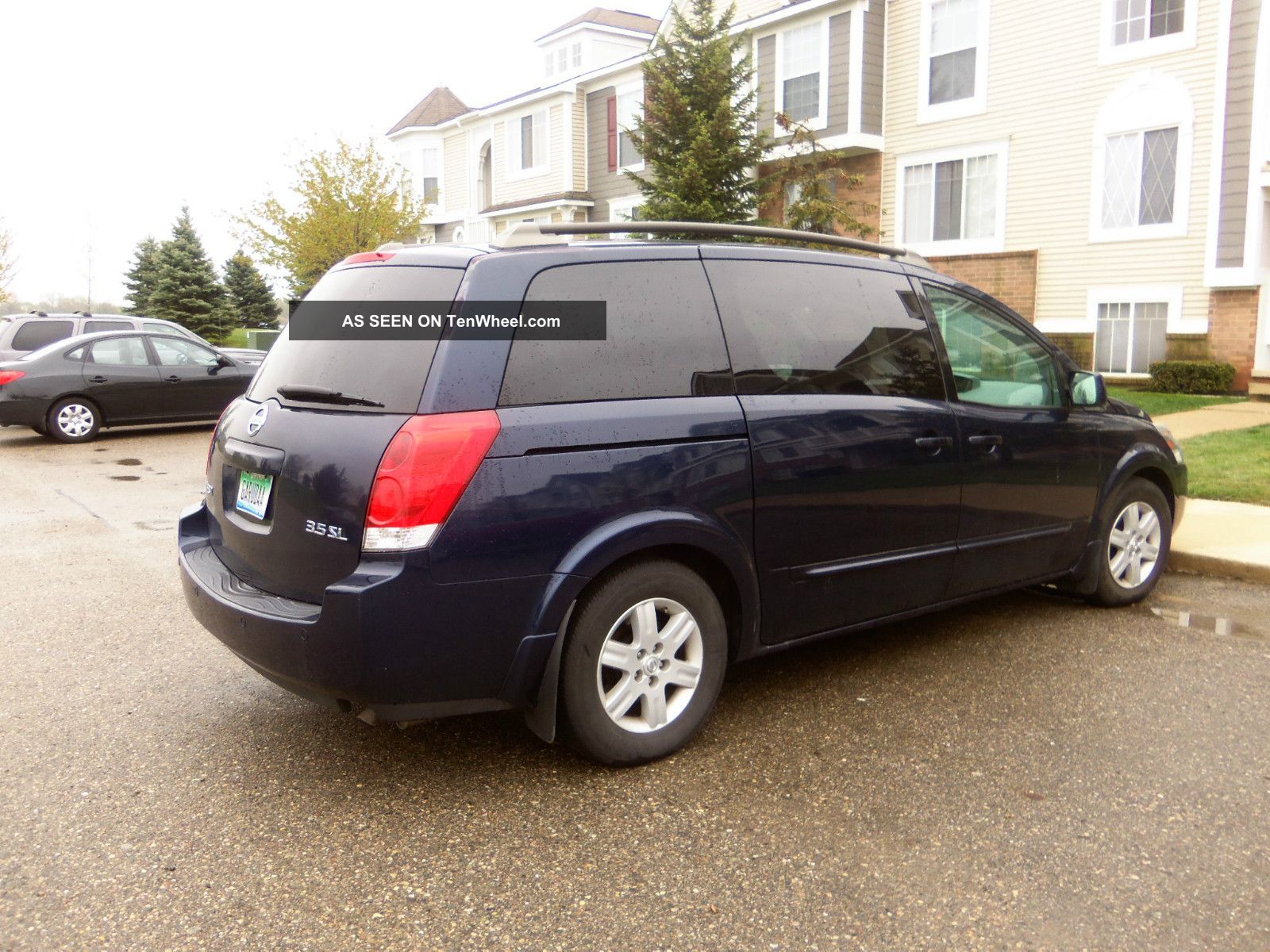 2005 nissan quest sl with dvd and bose premium sound. Black Bedroom Furniture Sets. Home Design Ideas