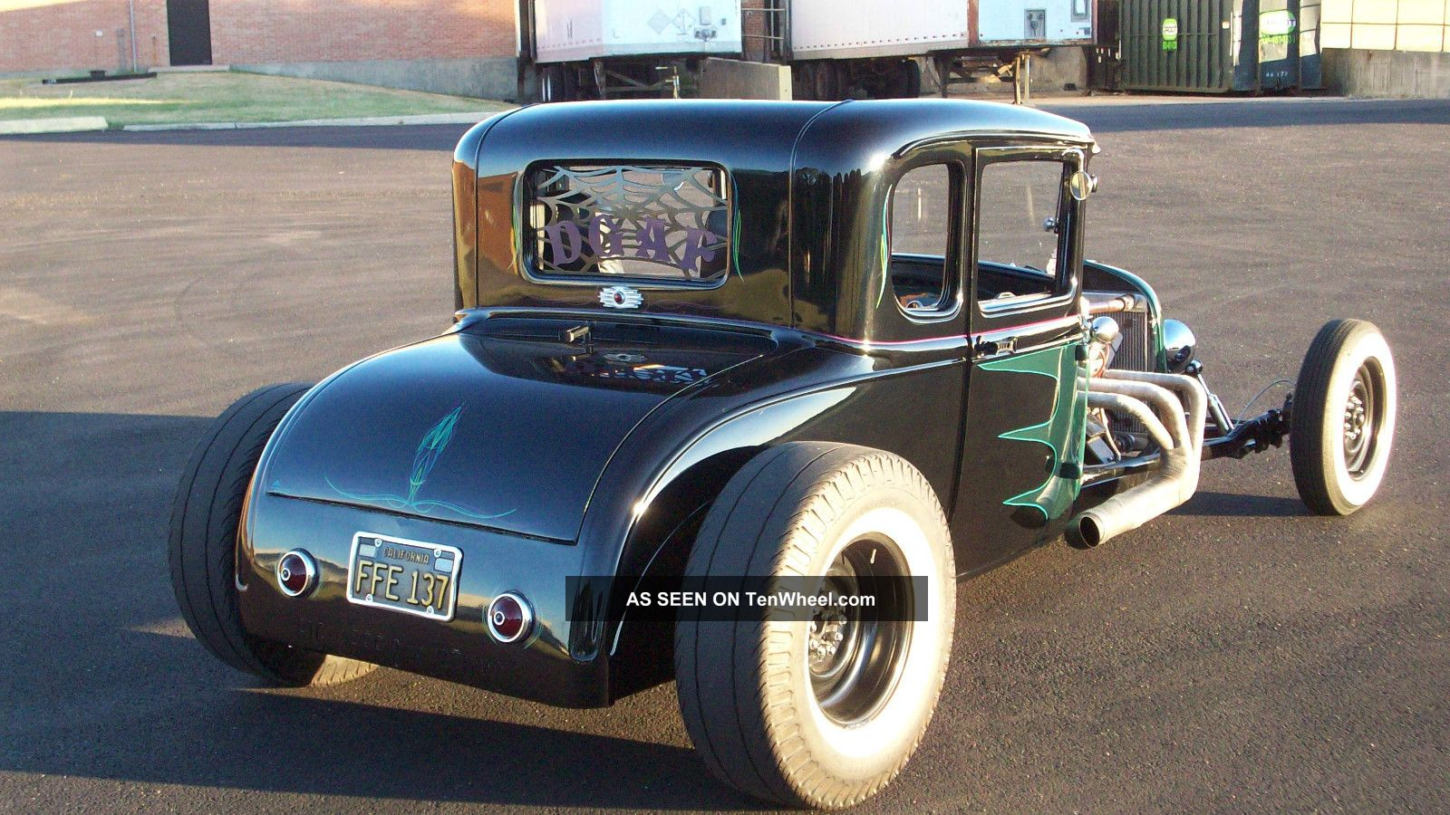 1931 ford model a coupe hot rod rat rod strret rod. Black Bedroom Furniture Sets. Home Design Ideas