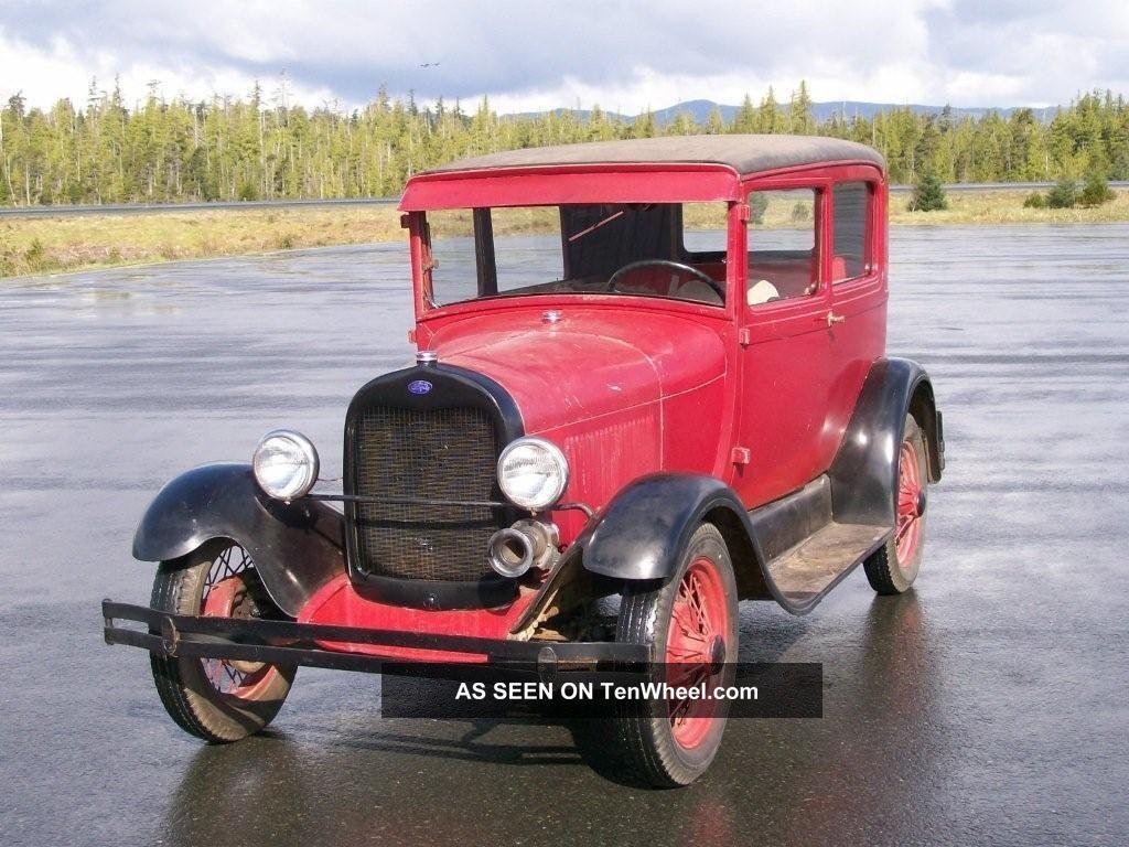 1929 model a ford sedan 2 door condition for 1929 dodge 4 door sedan