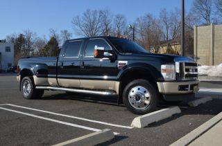 2008 Ford F - 450 Duty King Ranch Crew Cab Pickup 4 - Door 6.  4l photo