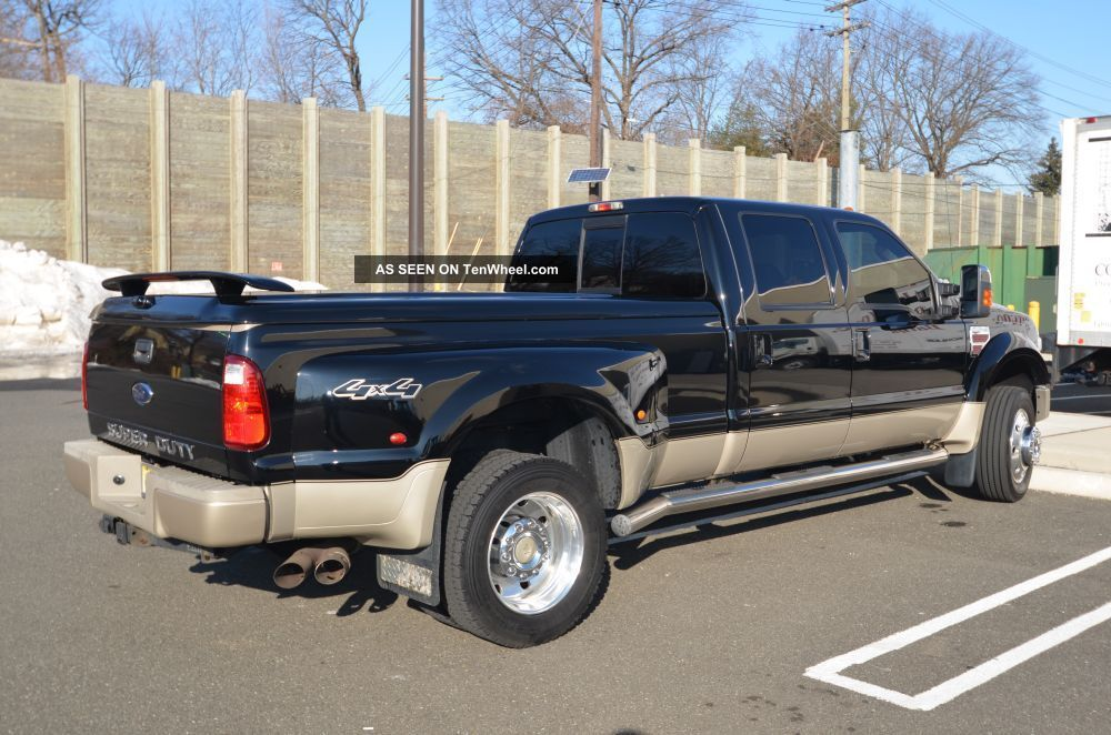 2008 ford f 450 duty king ranch crew cab pickup 4 door. Black Bedroom Furniture Sets. Home Design Ideas