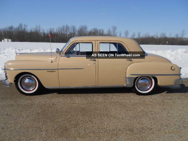 1950 dodge coronet 4 door sedan for 1950 dodge coronet 2 door