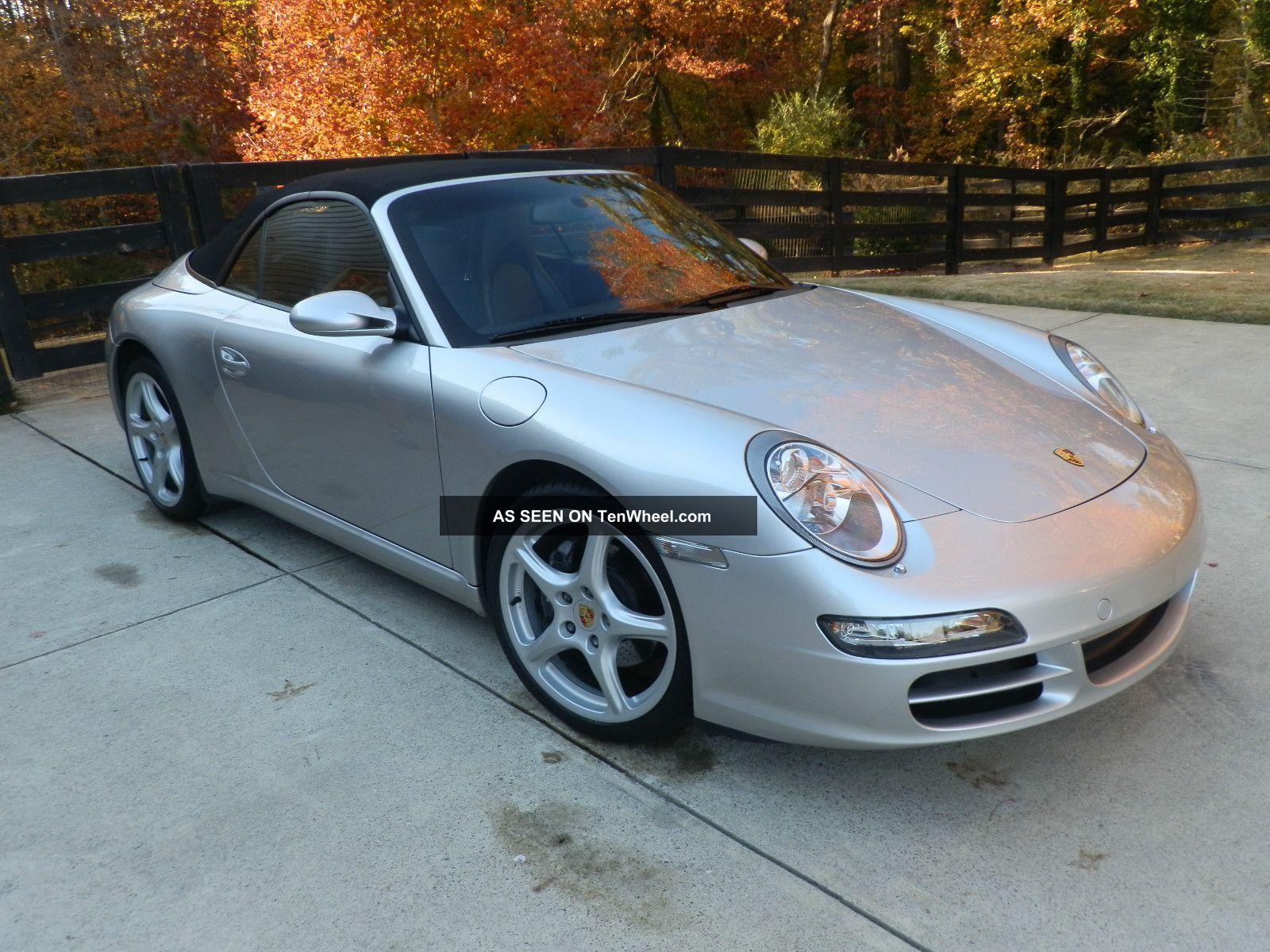 2005 Porsche 911 Carrera Convertible 2 - Door 3.  6l 911 photo