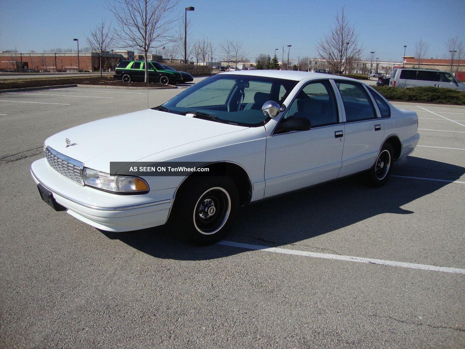 1995 Chevrolet Caprice Classic Sedan 4 Door 5 7l