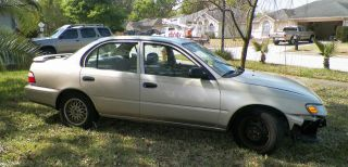 1996 Toyota Corolla Base Sedan 4 - Door 1.  6l photo