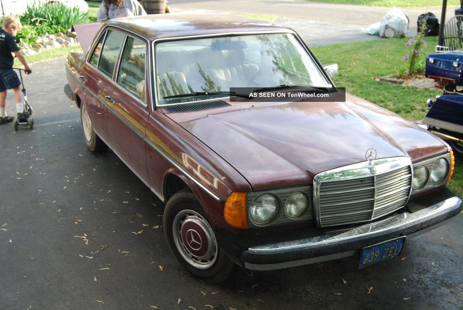 1980 diesel mercedes 240d veggie converted wvo car for 1980s mercedes benz