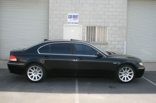 2004 Bmw 745li,  Looks Great Luxury Edition 745i 7501 750li 760li photo