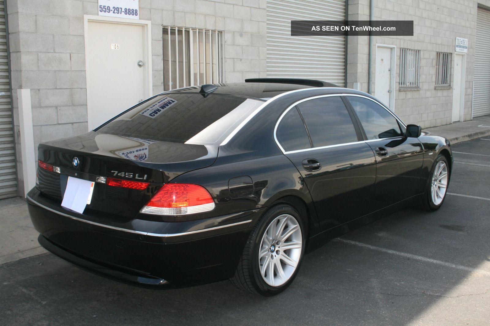 2004 bmw 745li looks great luxury edition 745i 7501 750li. Black Bedroom Furniture Sets. Home Design Ideas