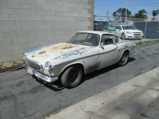 1964 Volvo P1800s Sitting In Garage Since 2000 Needs Restoration Very Complete photo