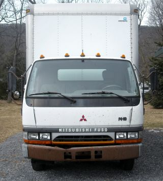 1997 Mitsubishi Fuso Cab Over Box Truck photo