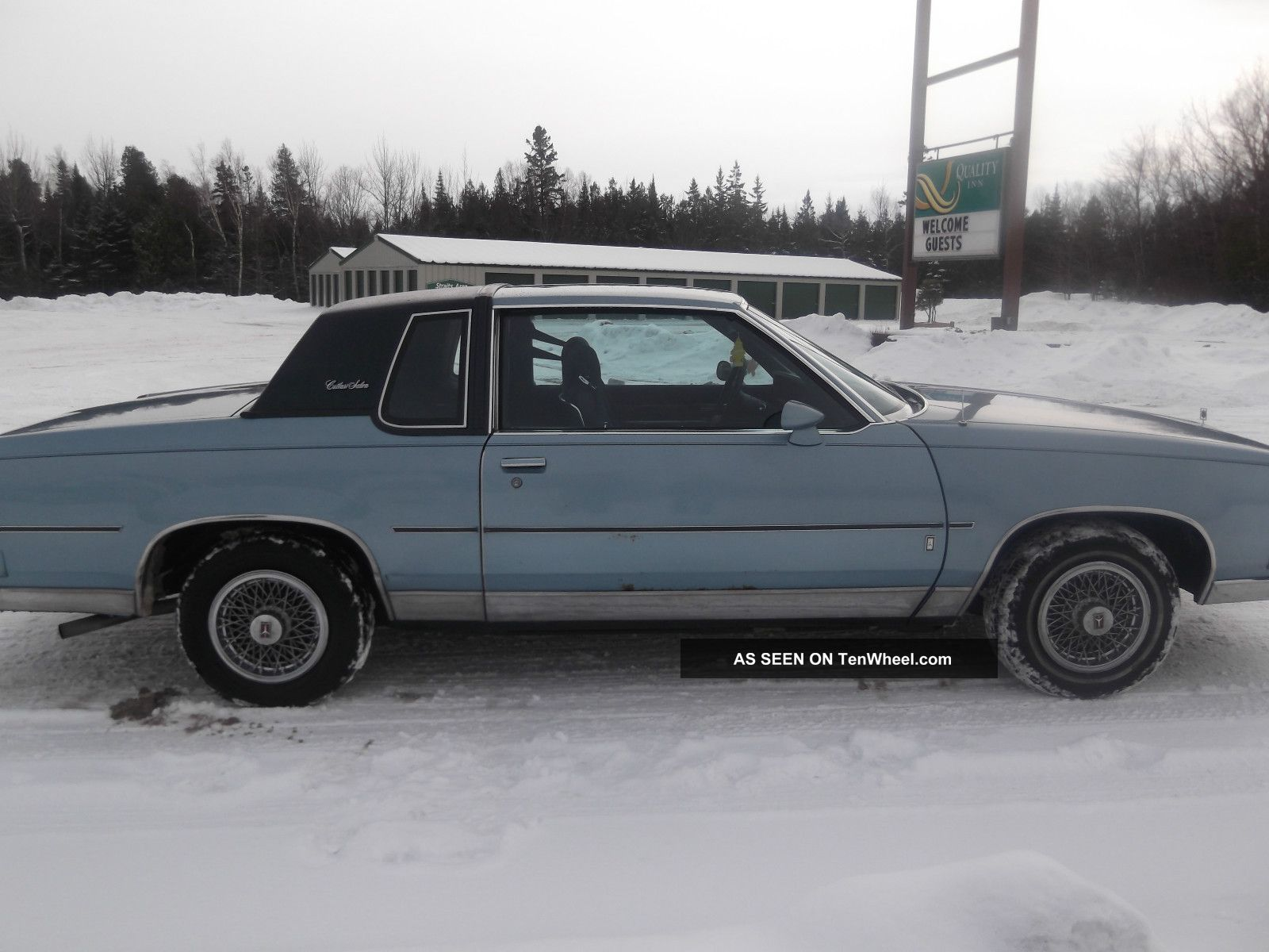 1985 oldsmobile cutlass salon base coupe 2 door 5 0l