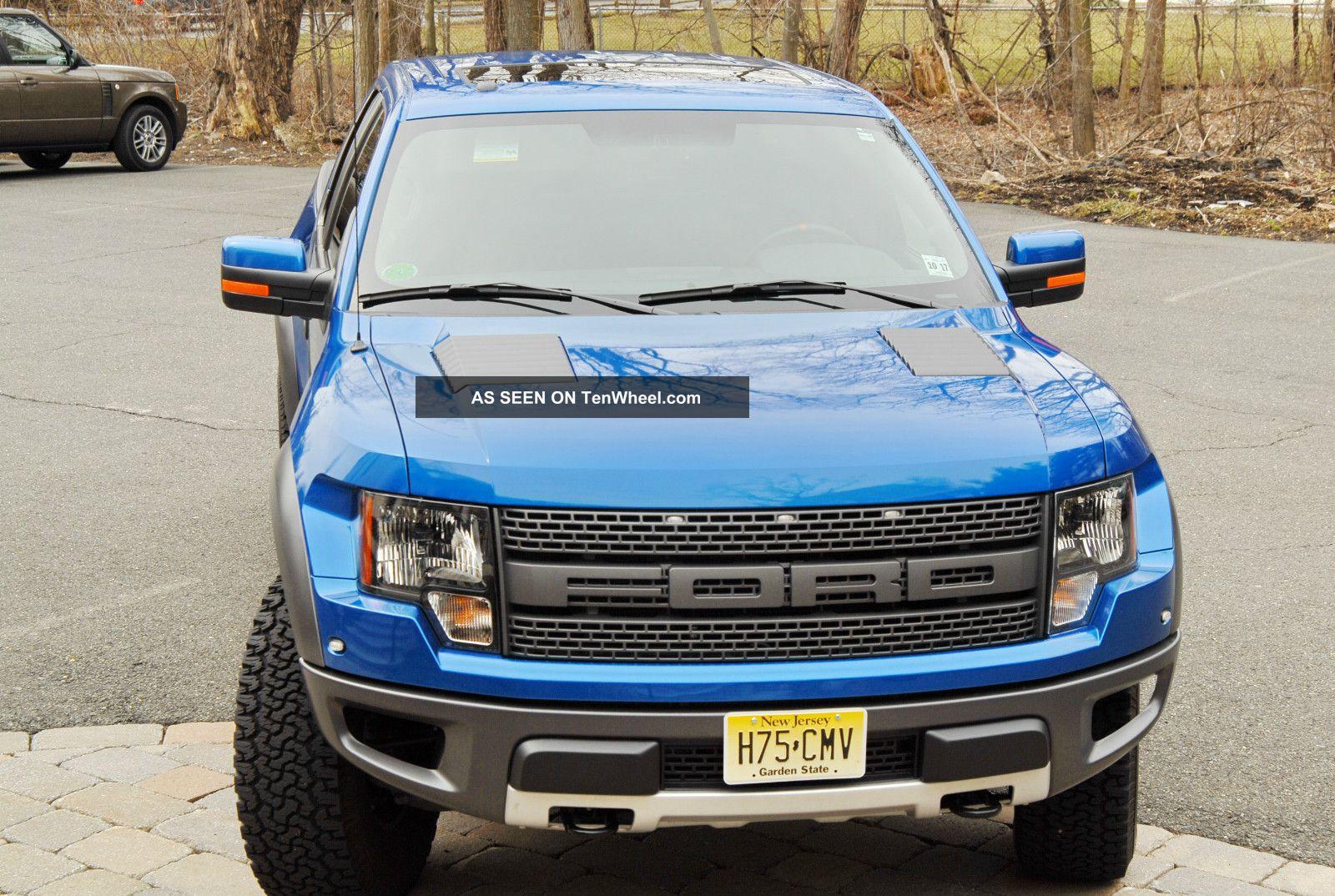 2012 ford f 150 svt raptor extended cab pickup 4 door. Black Bedroom Furniture Sets. Home Design Ideas