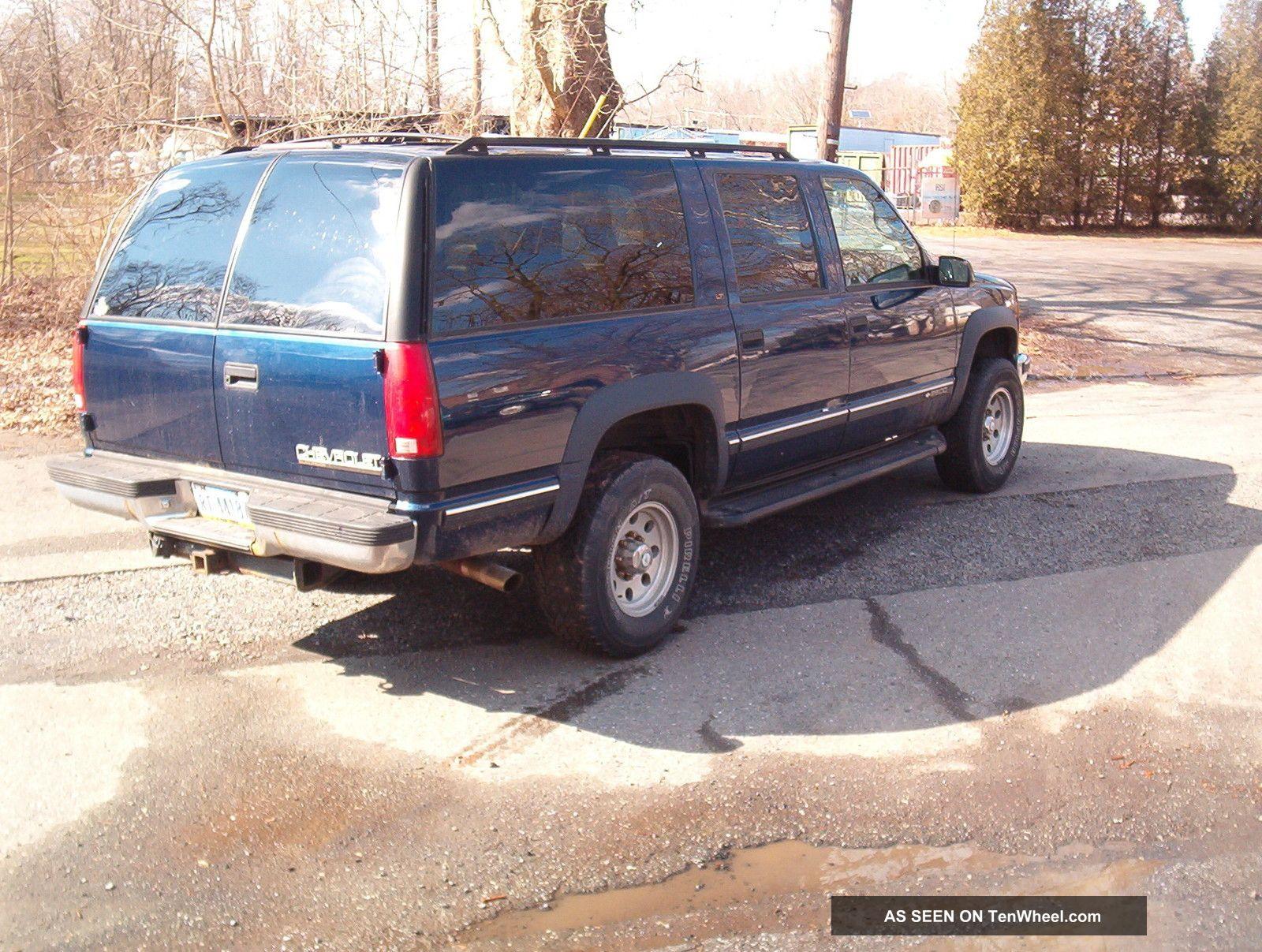1999 Chevy Suburban 2500 4wd