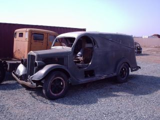 1934 White Panel Truck Custom Body One Of A Kind photo