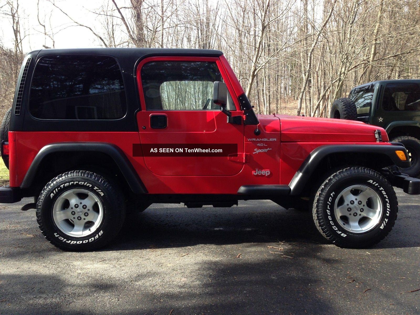 2000 Jeep Wrangler Sport Sport 4 0