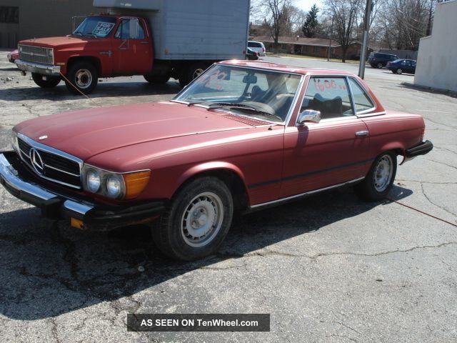 1974 mercedes benz 450sl convertible project runs 1975 Mercedes 450SL 1980 Mercedes 450SL