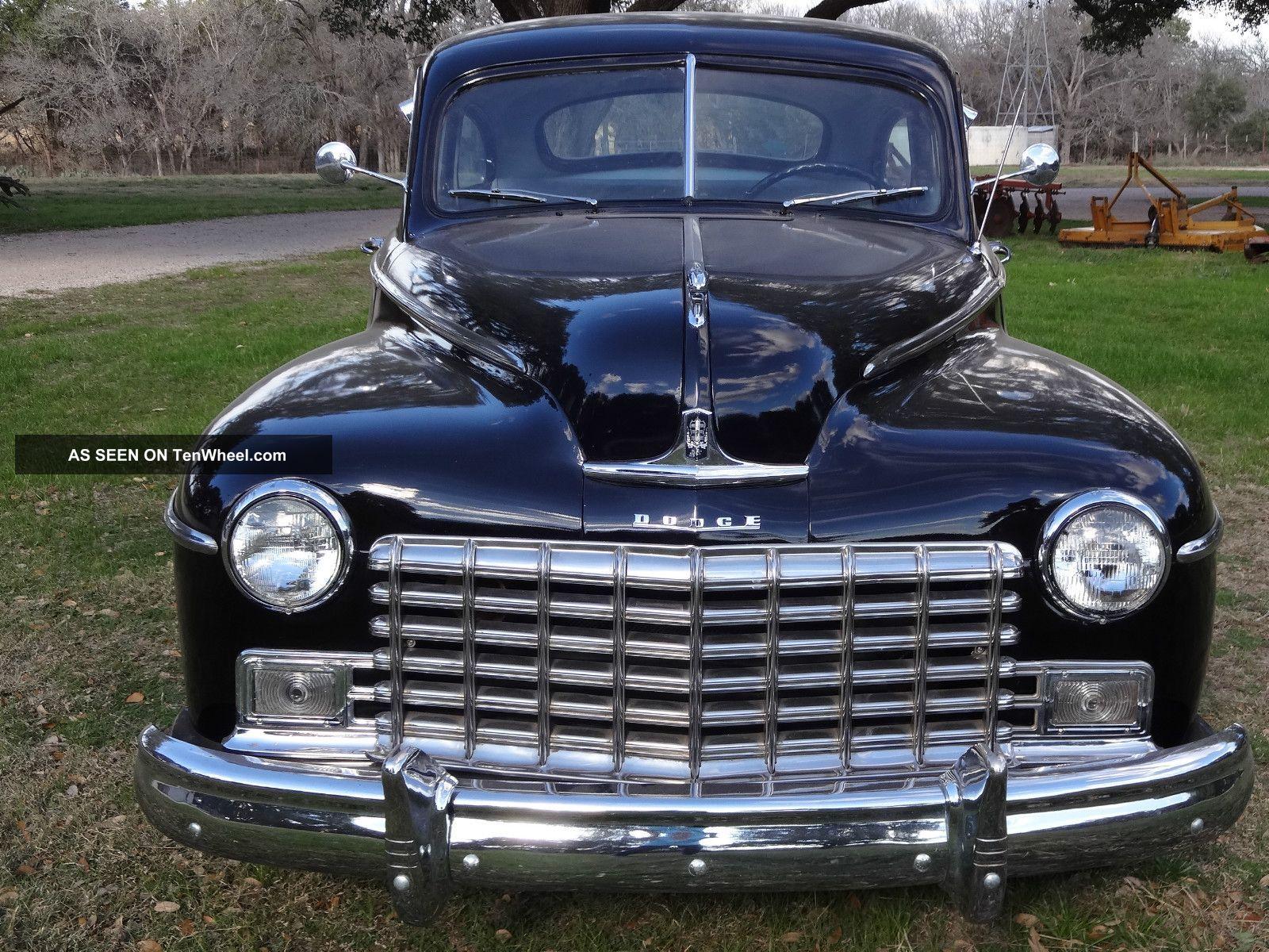 1948 dodge for 1948 dodge deluxe 4 door