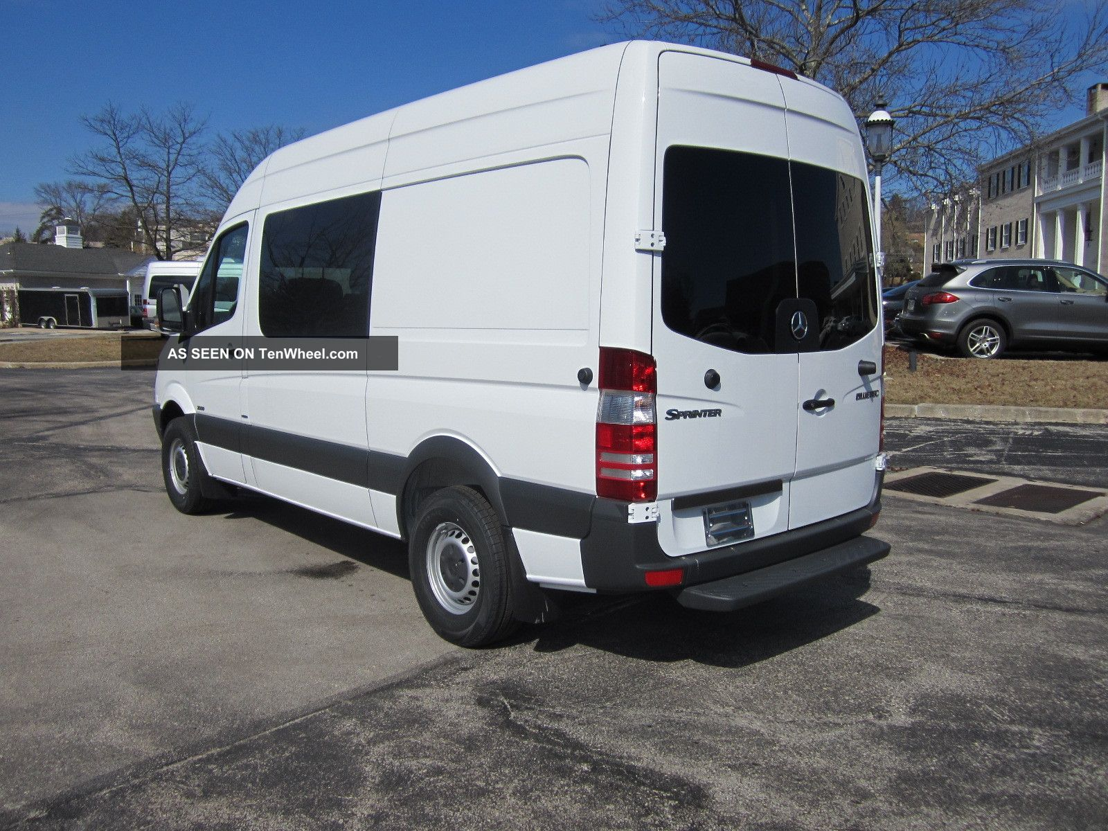 2013 mercedes benz sprinter cargo crew van 5. Black Bedroom Furniture Sets. Home Design Ideas