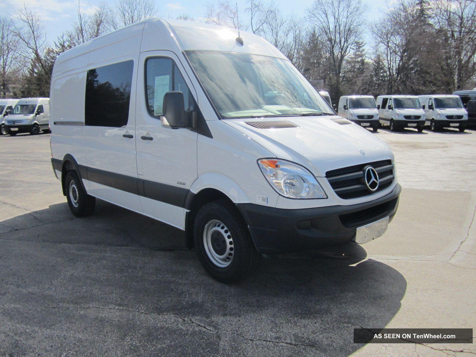 2013 Mercedes Benz Sprinter Cargo Crew Van 5