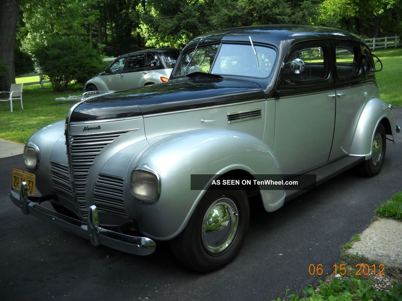 1939 Plymouth 4 Door Sedan
