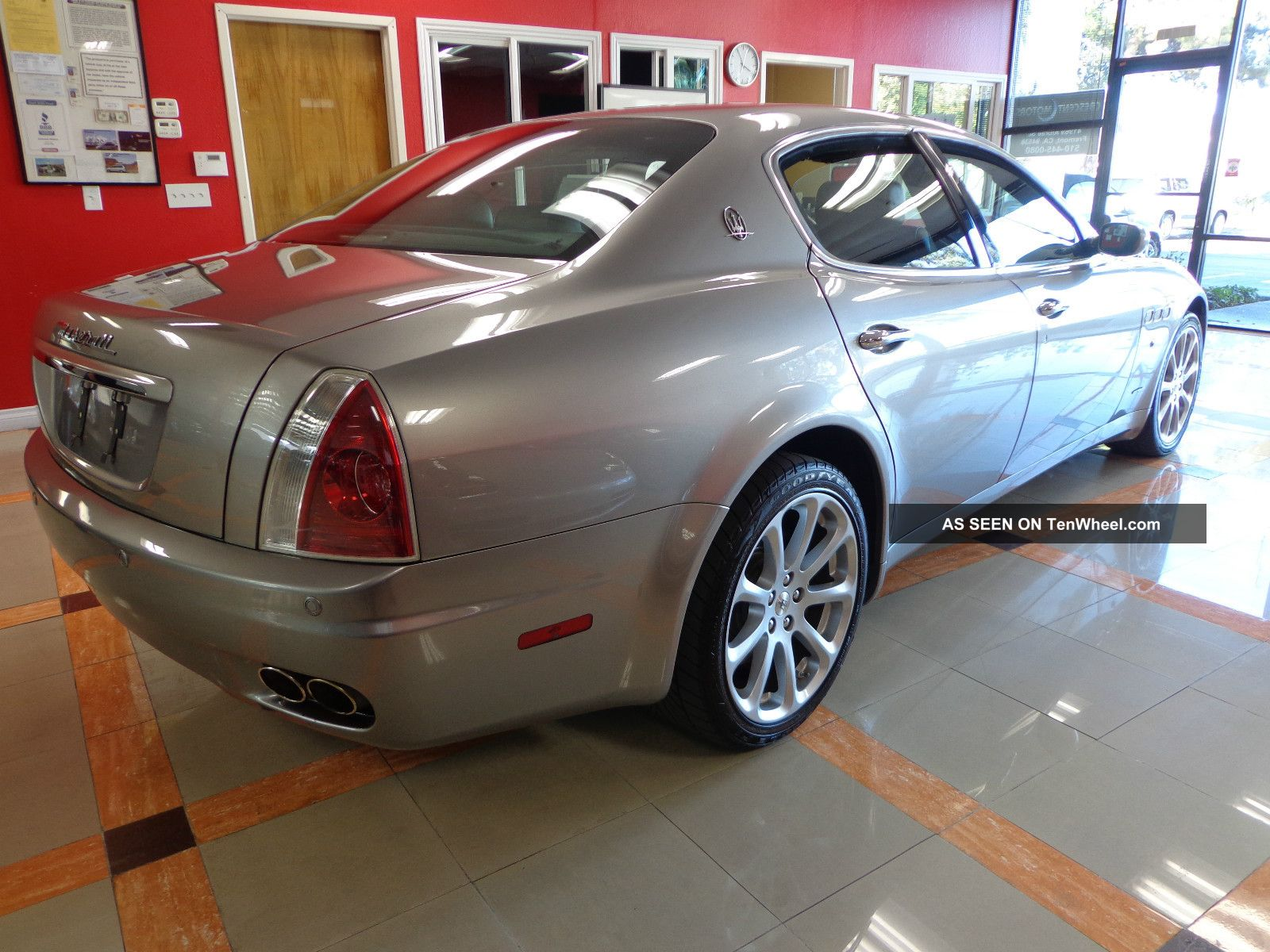 2008 maserati quattroporte executive gt low mileage. Black Bedroom Furniture Sets. Home Design Ideas