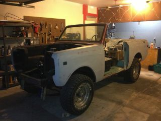 1977 International Harvester Scout Ii Project Vehicle photo