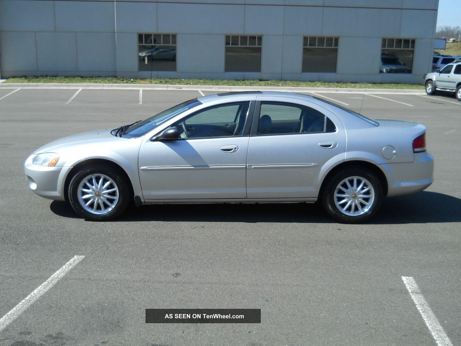 2002 Chrysler Sebring Lxi Sedan 4 Door 2 7l