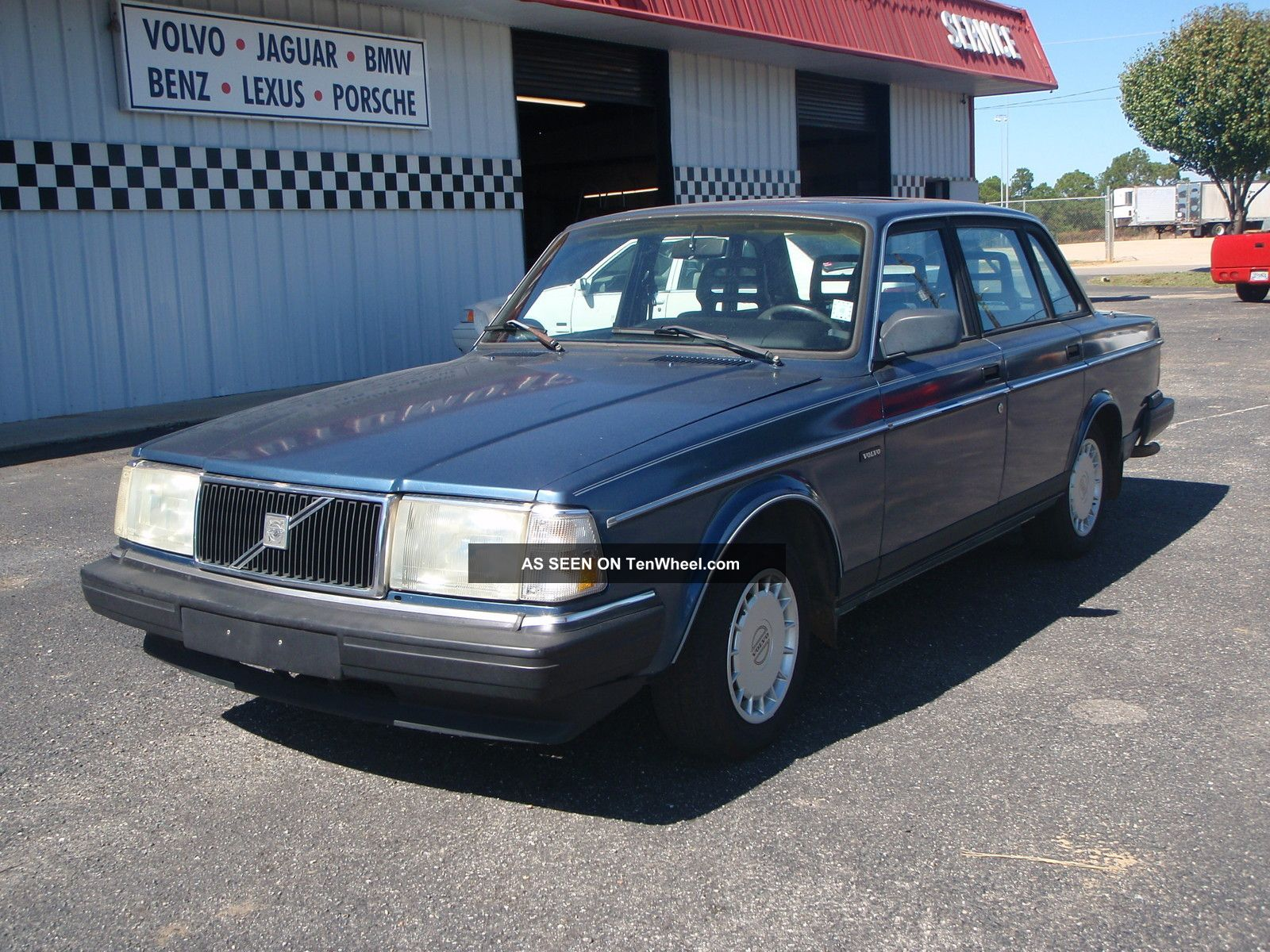 1992 Volvo 240 Gl Sedan 4 Door 2 3l Automatic Sun Roof