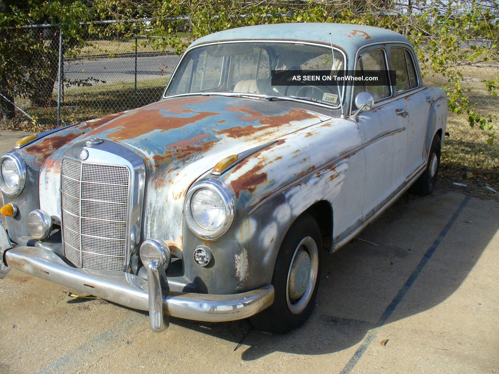 1959 mercedes benz 220s sedan for 1959 mercedes benz