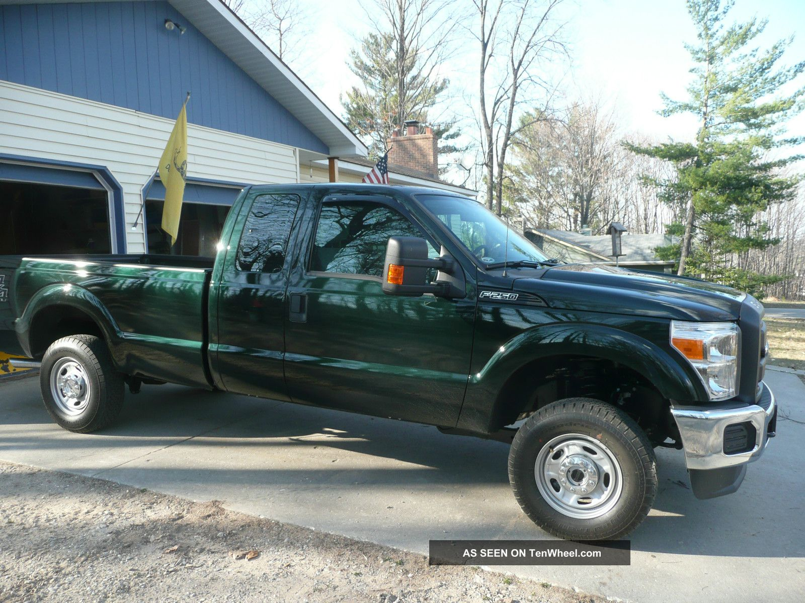 2012 ford f250 4x4 ext cab 6 2l v8. Black Bedroom Furniture Sets. Home Design Ideas