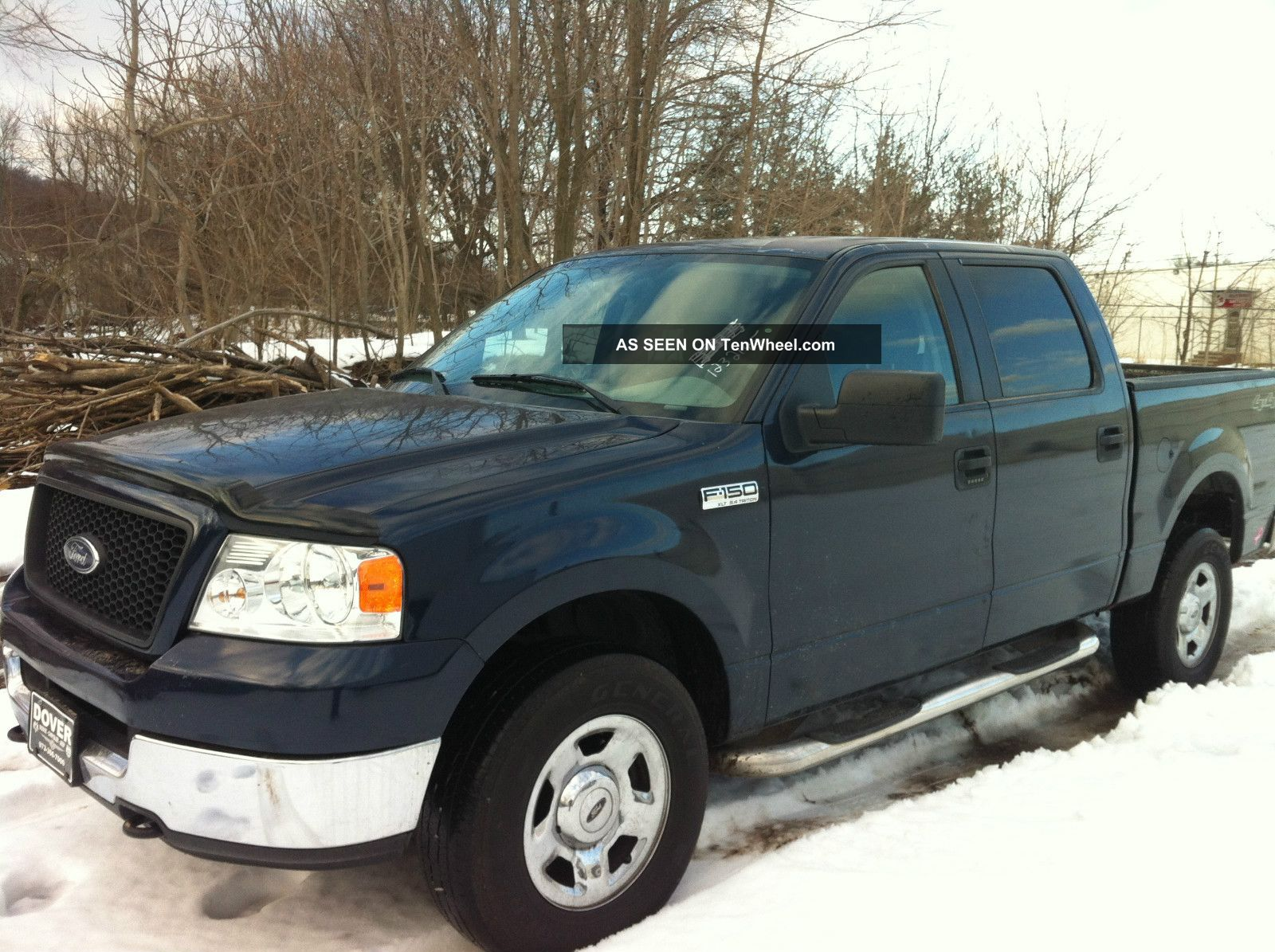 2005 ford f 150 xlt crew cab pickup 4 door 5 4l. Black Bedroom Furniture Sets. Home Design Ideas