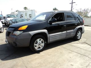 2001 Pontiac Aztek Base Sport Utility 4 - Door 3.  4l photo