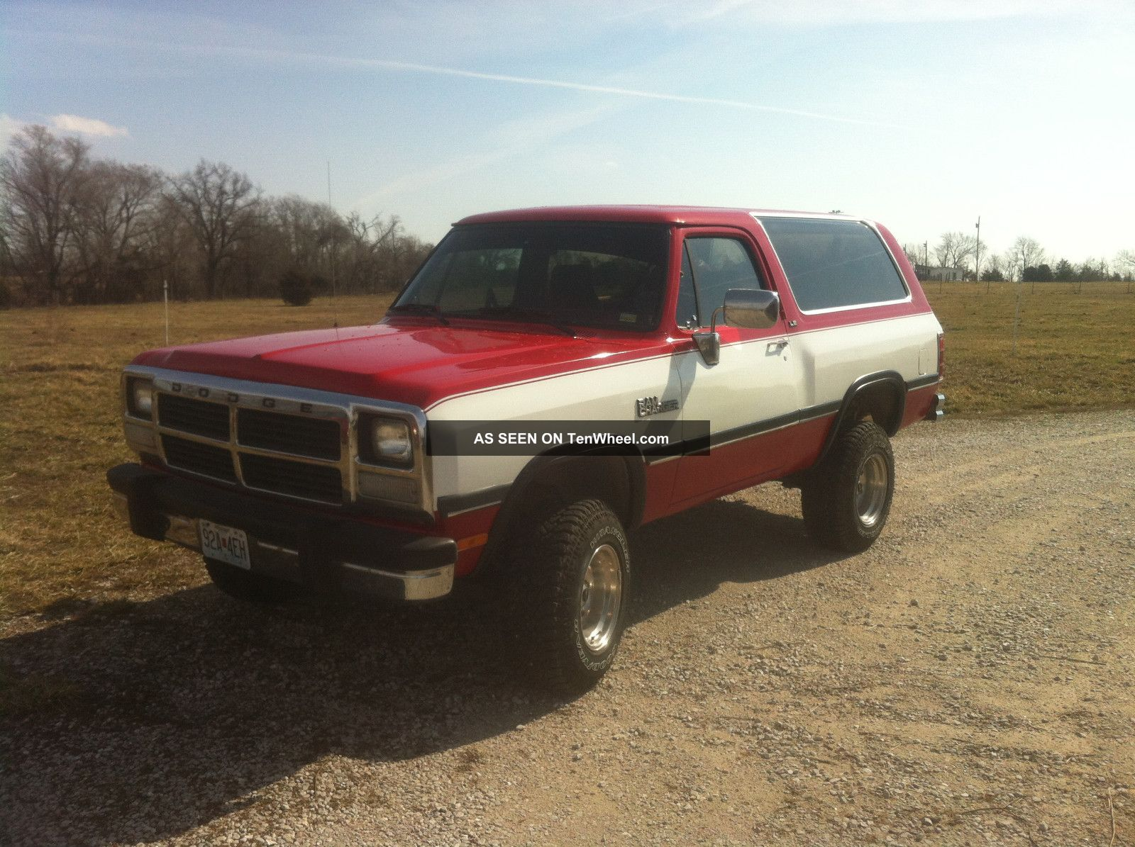 1991 Dodge Ramcharger 4x4 Truck
