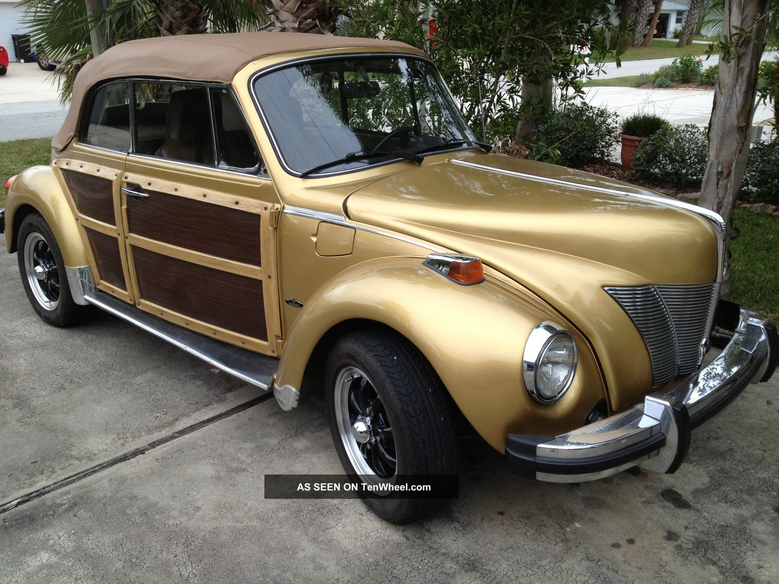 1974 Volkswagen Convertible ' 30 ' S Ford Front Woody ...