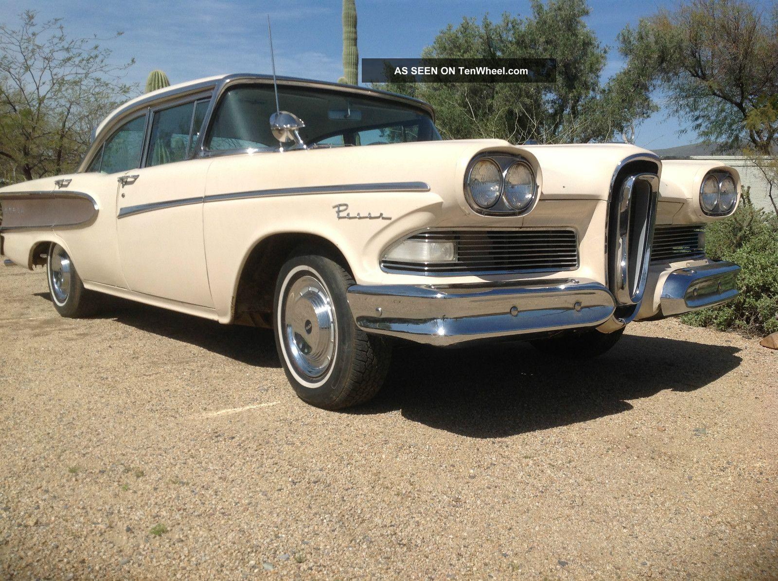 1958 Edsel Pacer Quot Arizona Car