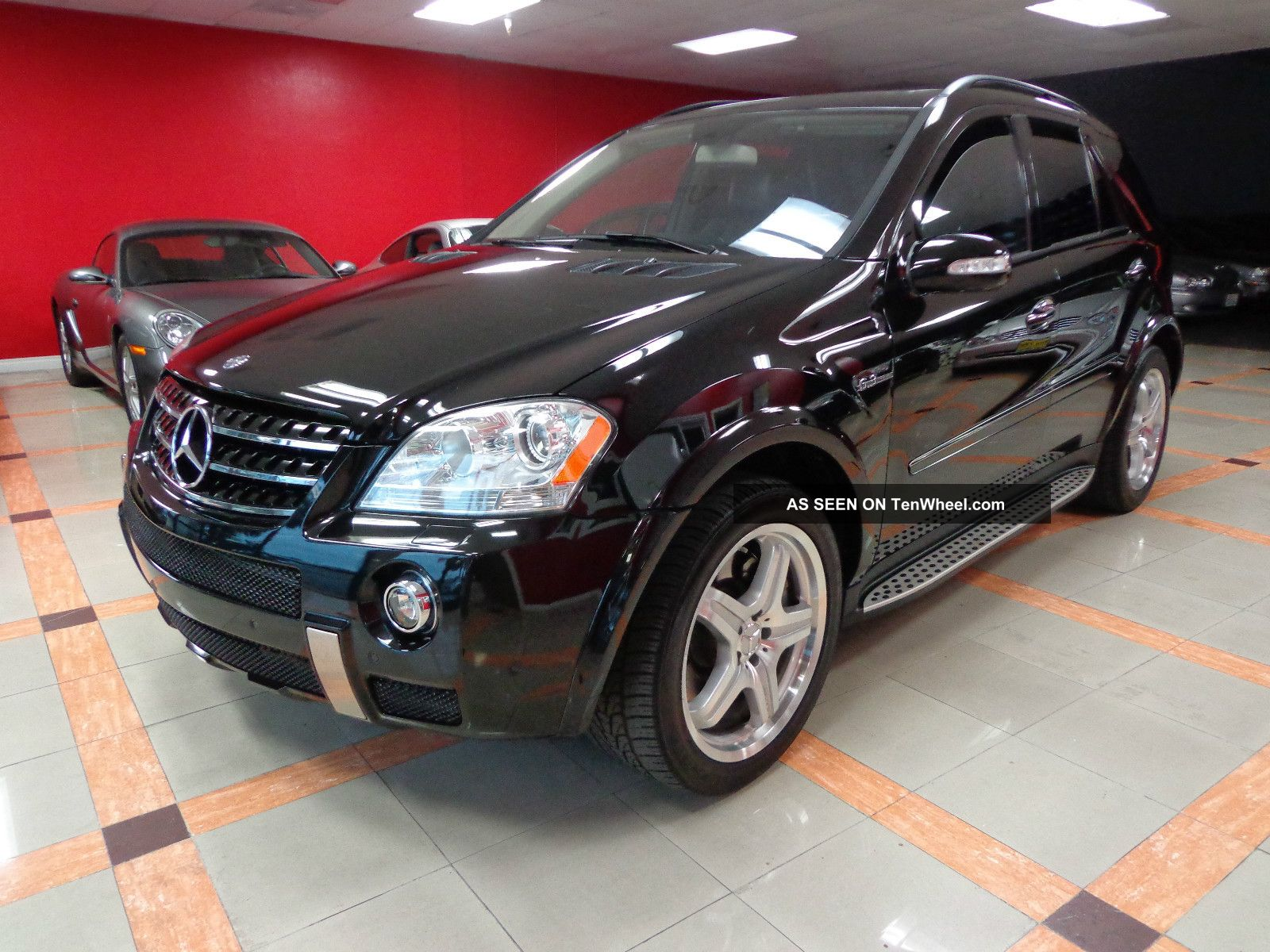 2008 mercedes benz ml63 amg 6 3l black on black for Mercedes benz repair fremont ca