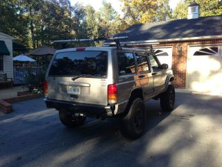 2001 Jeep Cherokee Se Sport Utility 4 - Door 4.  0l photo